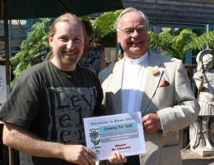 Winner Best overall Use of allotments Harbour way, Mr James Murfy
