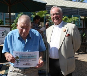 Winner best overall use of allotments Lenthay Road John Andrews