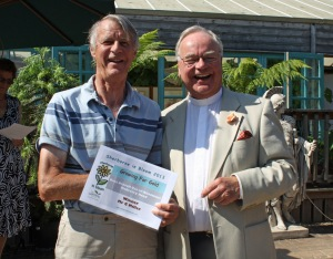 Winner Best Use of Allotments McCreery Road, Gerald Miller