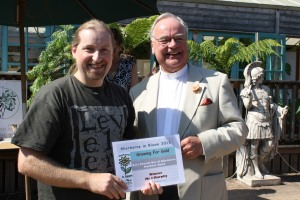 Winner James Murfy Best use of allotments Harbour Way