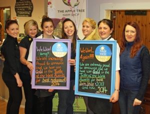 The Apple Tree Farm Shop and Restaurant team