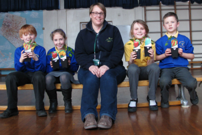 Pupils from Damers prepare for pepper growing competition small