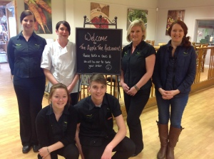 The Apple Tree Restaurant's winning team