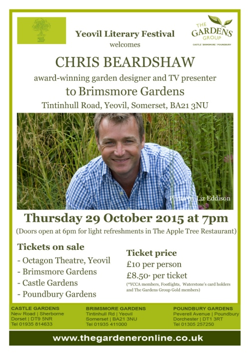 Chris Beardshaw blog