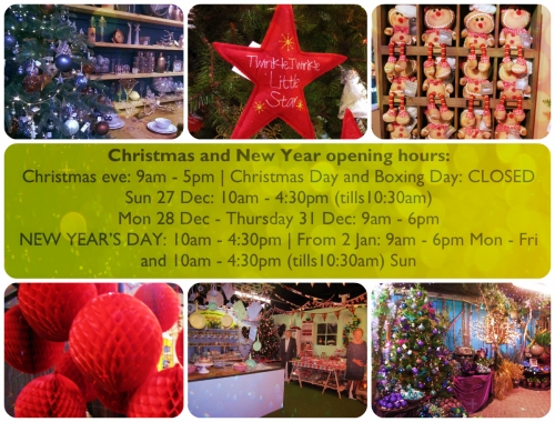 The Gardens Group Christmas and New Year