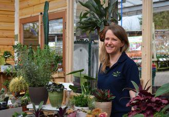 Kyla Foster-Shaw Housplants department manager